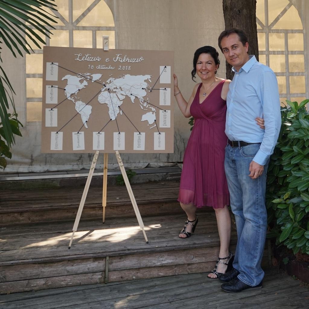 Laura e Michele - Tableau de mariage Mondo
