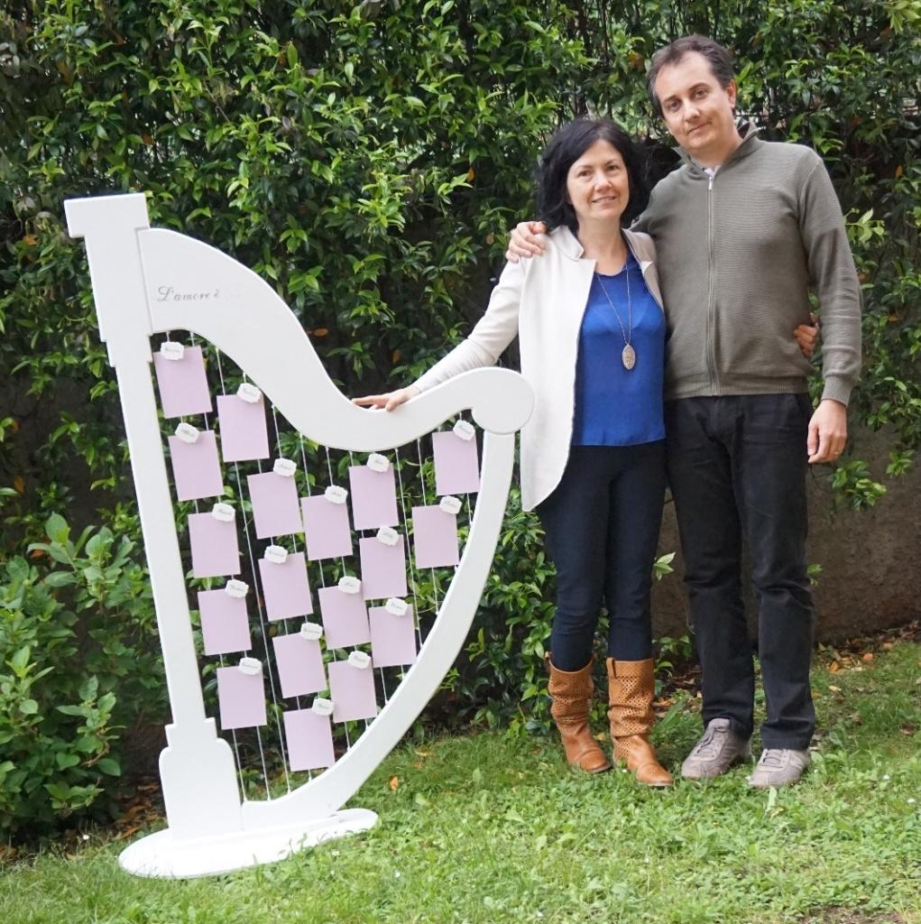 Laura e Michele - Tableau de mariage Arpa