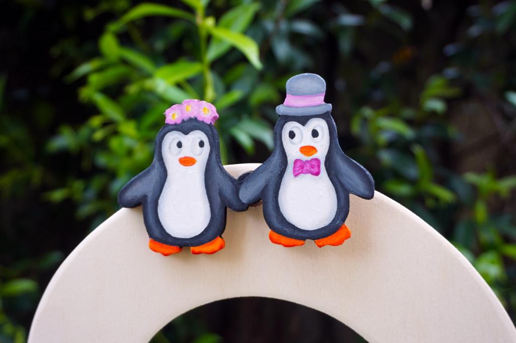Tableau-Mariage-Albero-Pinguini-Dettaglio