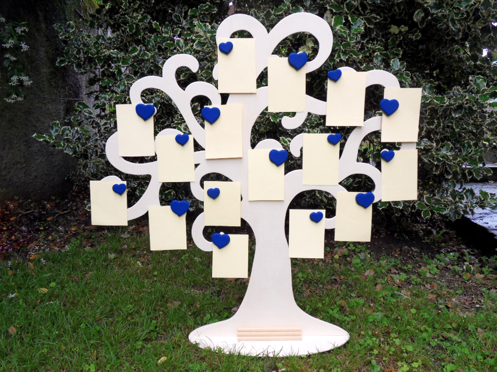 Tableau-Mariage-Albero-Della-Vita-Cuori-Blu