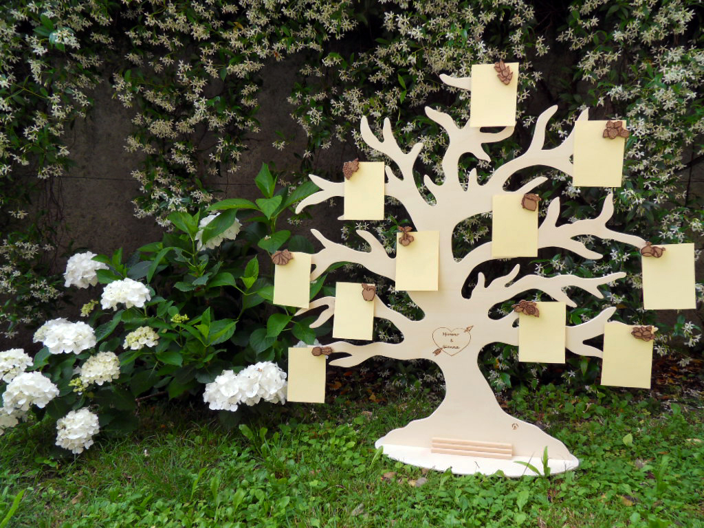 Tableau-Mariage-albero-frutta-pirografato