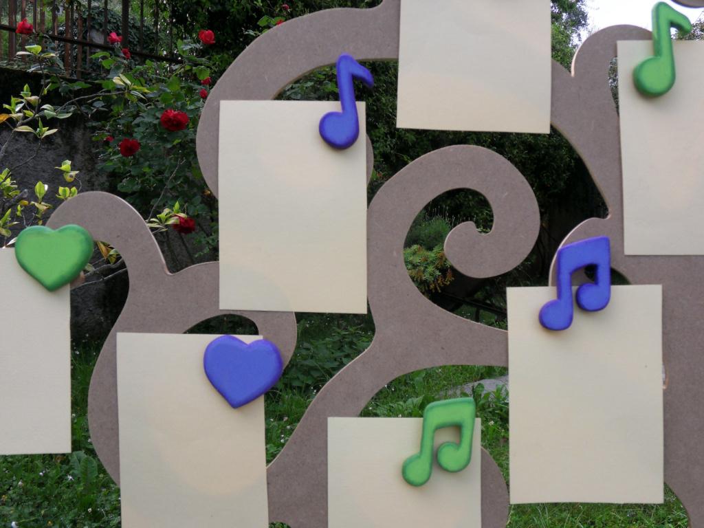 Tableau-Mariage-Albero-Musica-Note-Cuori-dettaglio