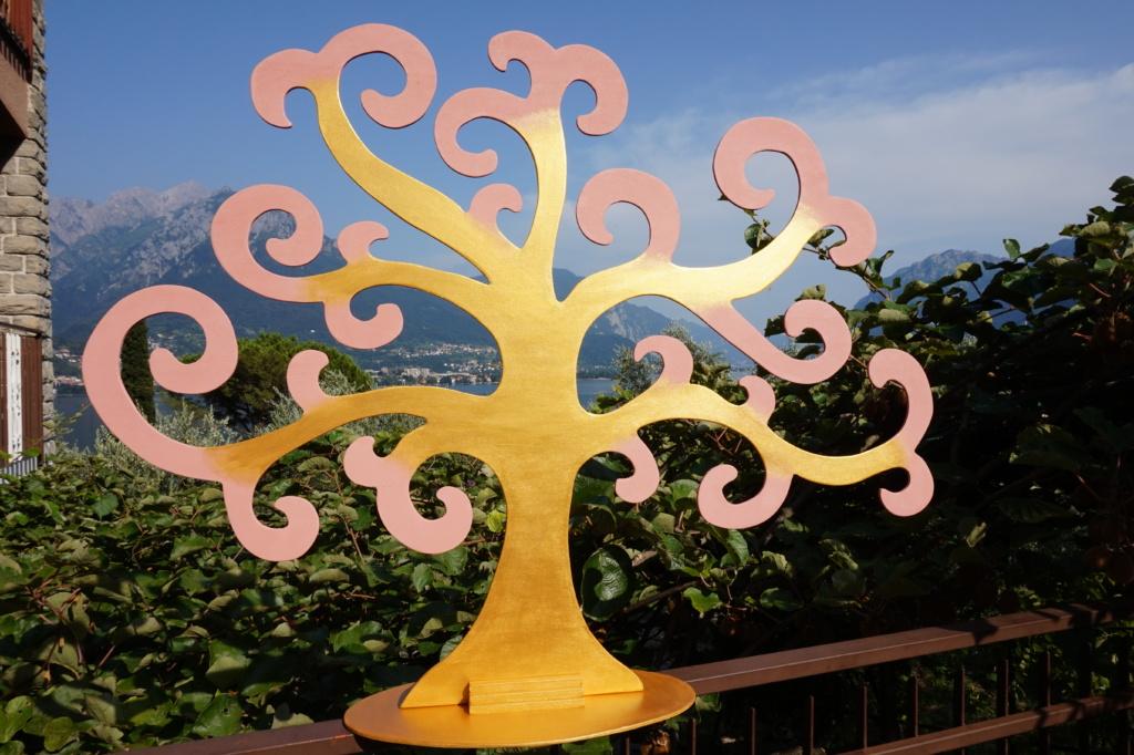 Tableau-Mariage-Albero-della-vita-oro-rosa-antico