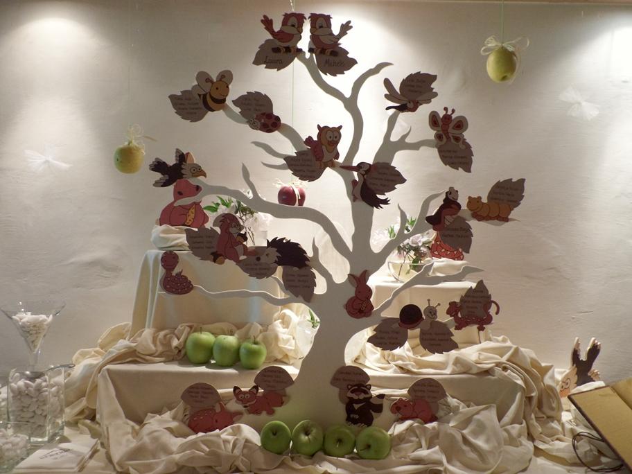 Tableau de Mariage-legno-Albero della vita